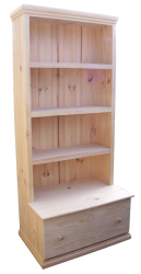 Bookshelves -  Bookshelf with Drawer