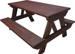 Outdoor Furniture -  Family Picnic Table