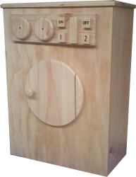 Cubby/Home Corner -  Wooden Washing Machine