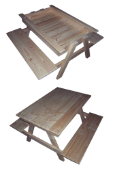 Outdoor Furniture -  Sand & Picnic Table