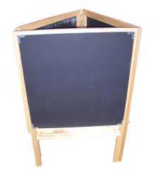 Kindergarten/Childcare -  Chalk board easel - 3 sided